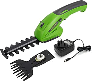 Sponsored Ad – WORKPRO 7.2V 2-in-1 Cordless Hedge Trimmer & Grass Shear with 1500mAh Lithium-Ion Battery, 2 Attachment Bla...