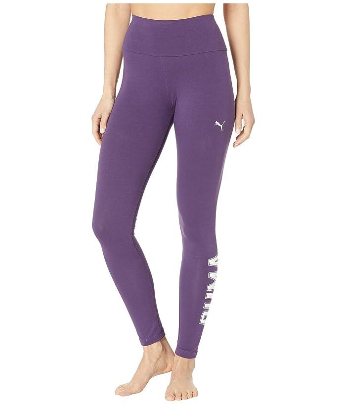 PUMA Athletics Logo Leggings (Indigo) Women