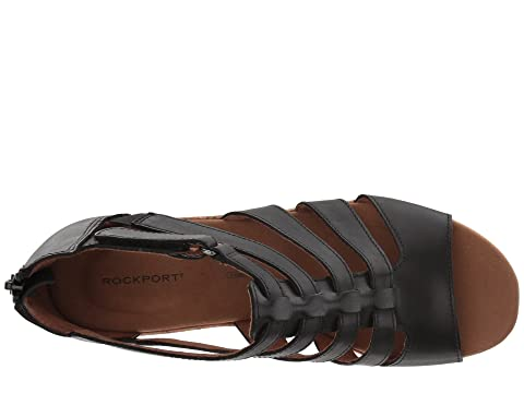 Tan Nubuck Rockport Gladiator LeatherNew LeatherDark Briah Taupe Black ww1q70I