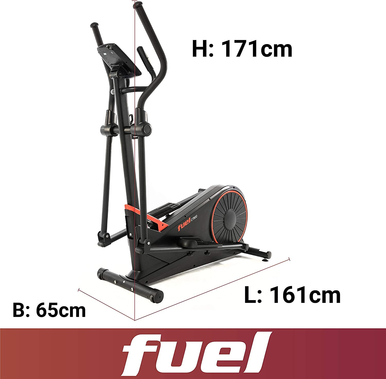 Fuel Fitness CT500 Abmessung