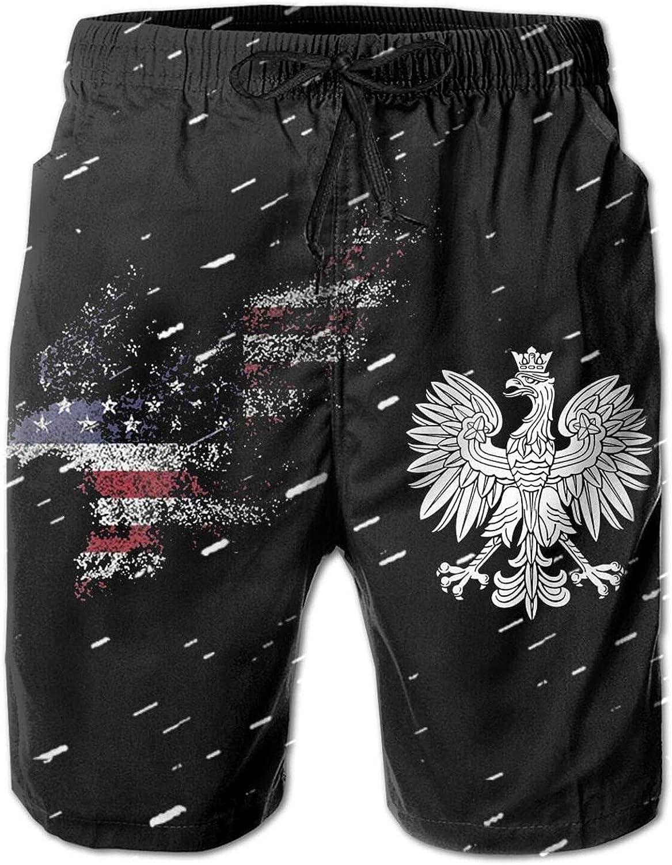 American Eagle Coat of New sales Arms Poland Max 78% OFF Men's Sports Tr Swim