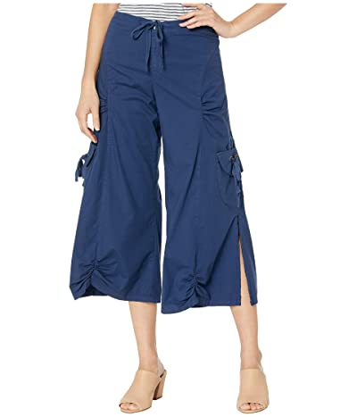 XCVI Cargo Gaucho Crop (Awigh Blue) Women