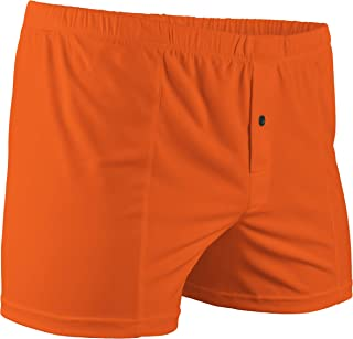 Nero Perla Orange 100/% Silk Boxer