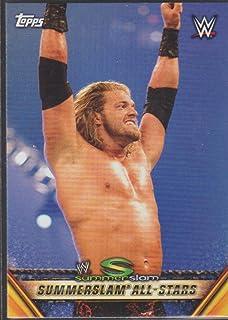 2019 Topps WWE SummerSlam Mr. SummerSlam #MSS-14 8/21/05 Edge def. Matt Hardy Wrestling Trading Card