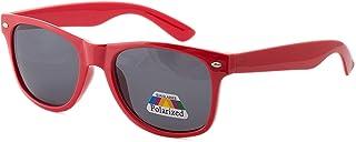 Morefaz - Gafas de sol infantiles con lentes polarizadas UV400 y diseñ
