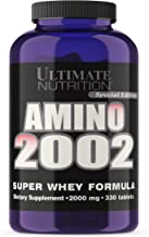 Ultimate Nutrition Amino 2002 Premium Whey Isolate Formula (330 Tablets)