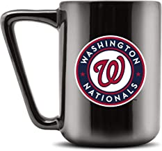 Duck House MLB WASHINGTON NATIONALS Ceramic Coffee Mug - Metallic Black, 16oz