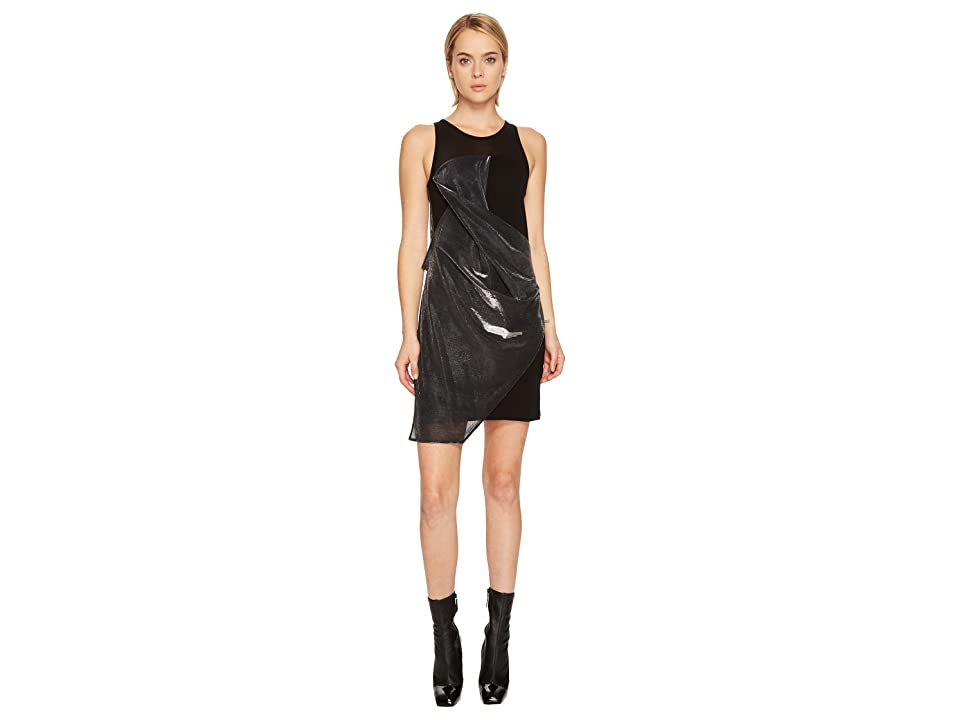 Versus Versace Abito Donna Jersey (Black/Silver) Women