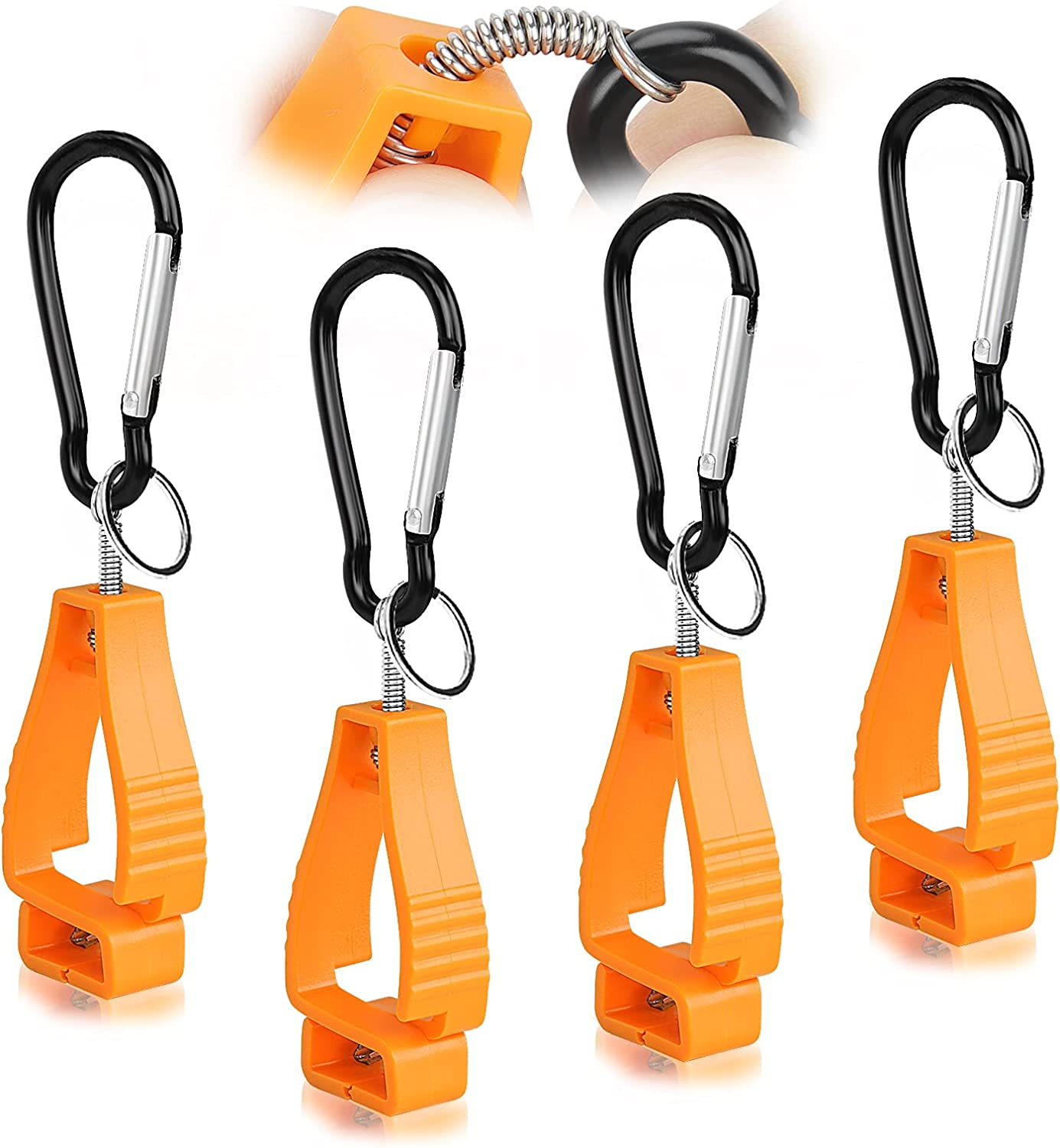 Ranking Outlet sale feature TOP9 4pcs Glove Clips for work glove Holders Ideal clips fo