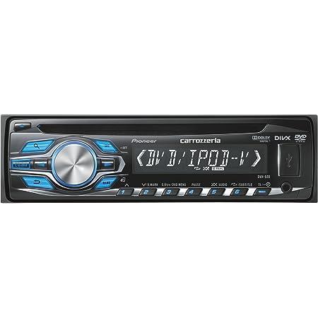 カロッツェリア(パイオニア) カーオーディオ DVH-570 1DIN CD/DVD/USB
