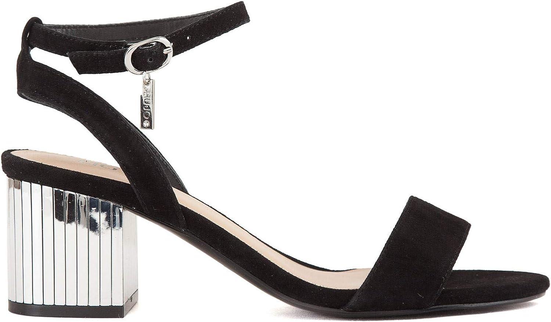 Schuhe Sandalo Thelma schwarz Tacco Spec o SS19
