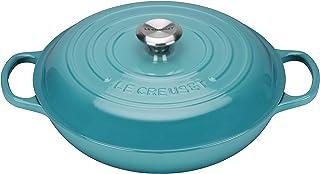 Le Creuset Enameled Cast Iron Signature Braiser, 2.25 qt., Caribbean
