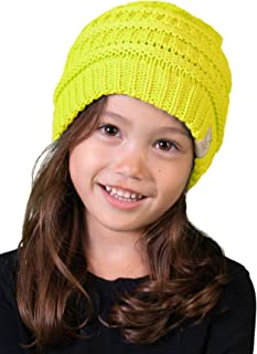 1647107b6e5 Funky Junque Kids Baby Toddler Ribbed Knit Children s Winter Hat Beanie Cap