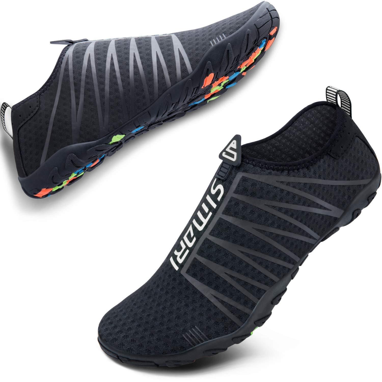 Mens Womens Water Sports Shoes Outdoor Beach Swim Surf Quick-Dry Aqua Barefoot Yoga Anti-Slip Hiking Jogging Shoes