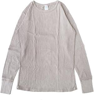 [ベルバシーン] Velva Sheen 長袖Tシャツ 無地 スラブ サーマル パックTシャツ 161462Mグレー