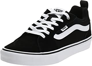 Vans MN Filmore, Men's Shoes, Black ((Suede/Canvas) black/white IJU), 7.5 UK (41 EU)