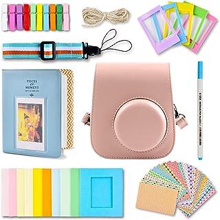 Funda y accesorios compatibles con cámara Fujifilm Instax Mini 11 Instant Polaroid, paquete incluye álbumes, filtros, corr...