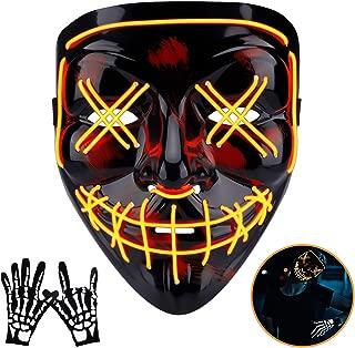 led emoji mask