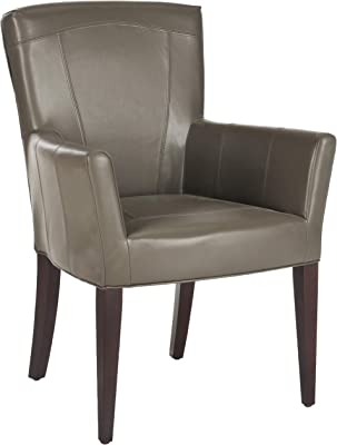 Safavieh MCR4710B Dale Arm Chair Accent Chairs (Clay)