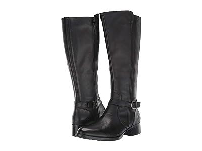Born Cosna (Black Full Grain Leather) Women