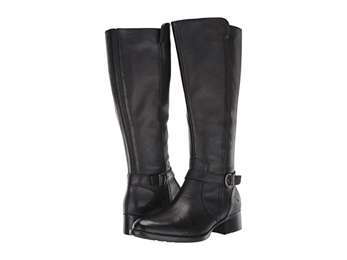 Born  Cosna (Black Full Grain Leather) Womens  Boots