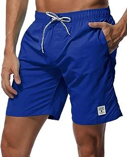 SHEKINI Men's Swim Trunks Short Quick Dry Slim fit Lightweight