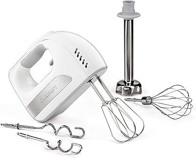 Cuisinart HM-8GR 8-Speed Hand Mixer with Blending Attachment, Gray