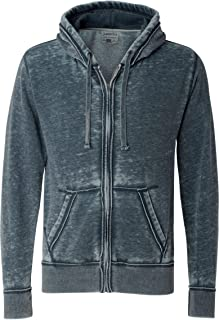 J. America Men's Zen Full Zip Hooded Sweatshirt