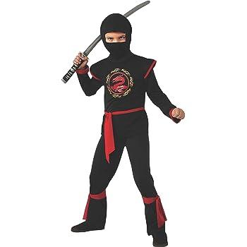 Negro Power Ninja - Disfraz de Niño 8 - 10 años: Amazon.es: Ropa y ...
