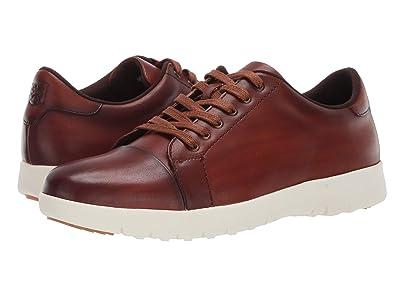 Stacy Adams Hawkins Cap Toe Sneaker (Cognac) Men