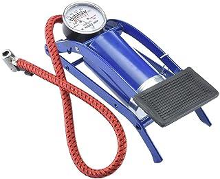 RUMPES Single Barrel Steel Body Foot Pump for car | Air Pump for Motorcycle Car | High Pressure Foot Pump, Bike Motorbike ...