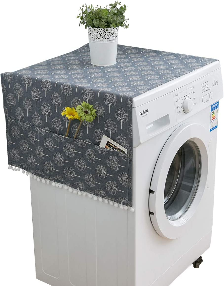 IUTOYYE Time sale Refrigerator Fridge Super-cheap Dust-Proof Cov Machine Cover Washing