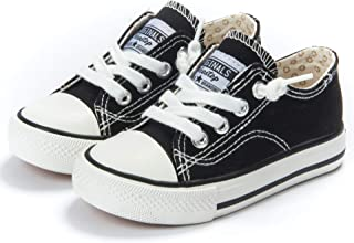 Toddler Little Kid Boys and Girls Slip On Canvas Sneakers