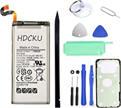 HDCKU Battery Replacement for Samsung Galaxy S8 Battery G950 EB-BG950ABE Battery Repair Kit(365 Days Warranty)