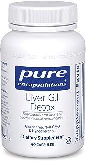 Pure Encapsulations - Liver-G.I. Detox - Support for Liver and Gastrointestinal Detoxification* - 60 Capsules
