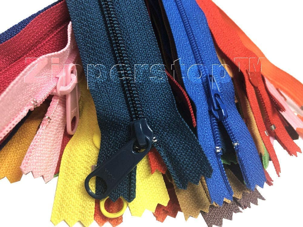 Handbag Nylon Coil YKK Zippers for Sewing Crafts  Tailors in Bu