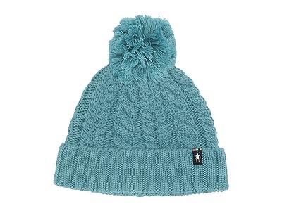 Smartwool Ski Town Hat (Nile Blue) Beanies