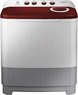 Samsung 7.5 kg Semi-Automatic Top Loading Washing Machine (WT75M3000HP/TL, Light Grey, Air turbo drying)