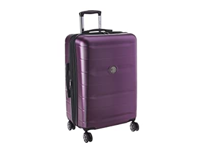 Delsey Comete 2.0 24 Spinner Upright (Plum) Luggage
