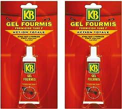 Anti Fourmis KB Jardin Lot de 2 Tubes Gel 30 grammes