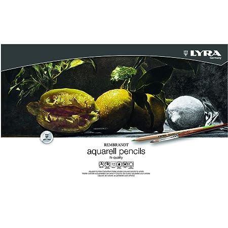 Lyra L2011720 - Scatola Metallo 72 Matite Acquerellabili Aquarell