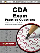 CDA Exam Practice Questions (First Set): DANB Practice Tests & Review for the Certified Dental Assistant Examination