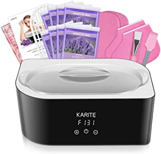 Paraffin Wax Machine for Hand and Feet - Karite Paraffin Wax Bath 4000ml Paraffin Wax Warmer Moisturizing Kit Auto-time an...