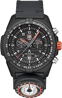ساعة يد لومينوكس بإصدار محدود بير جريلز 3782 | أسود/برتقالي
