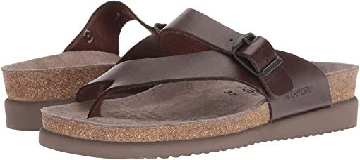Dark Brown Waxy Leather