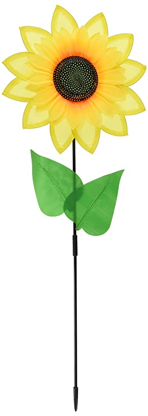 Sunflower Wind-Wheel Party Accessory (1 count) (1/Pkg)