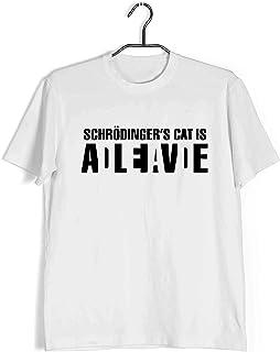Aaramkhor Physics T-Shirt for Men | Schrodinger's Cat Dead or Alive | The Classics | Regular Fit for Men Sizes S to 4XL|