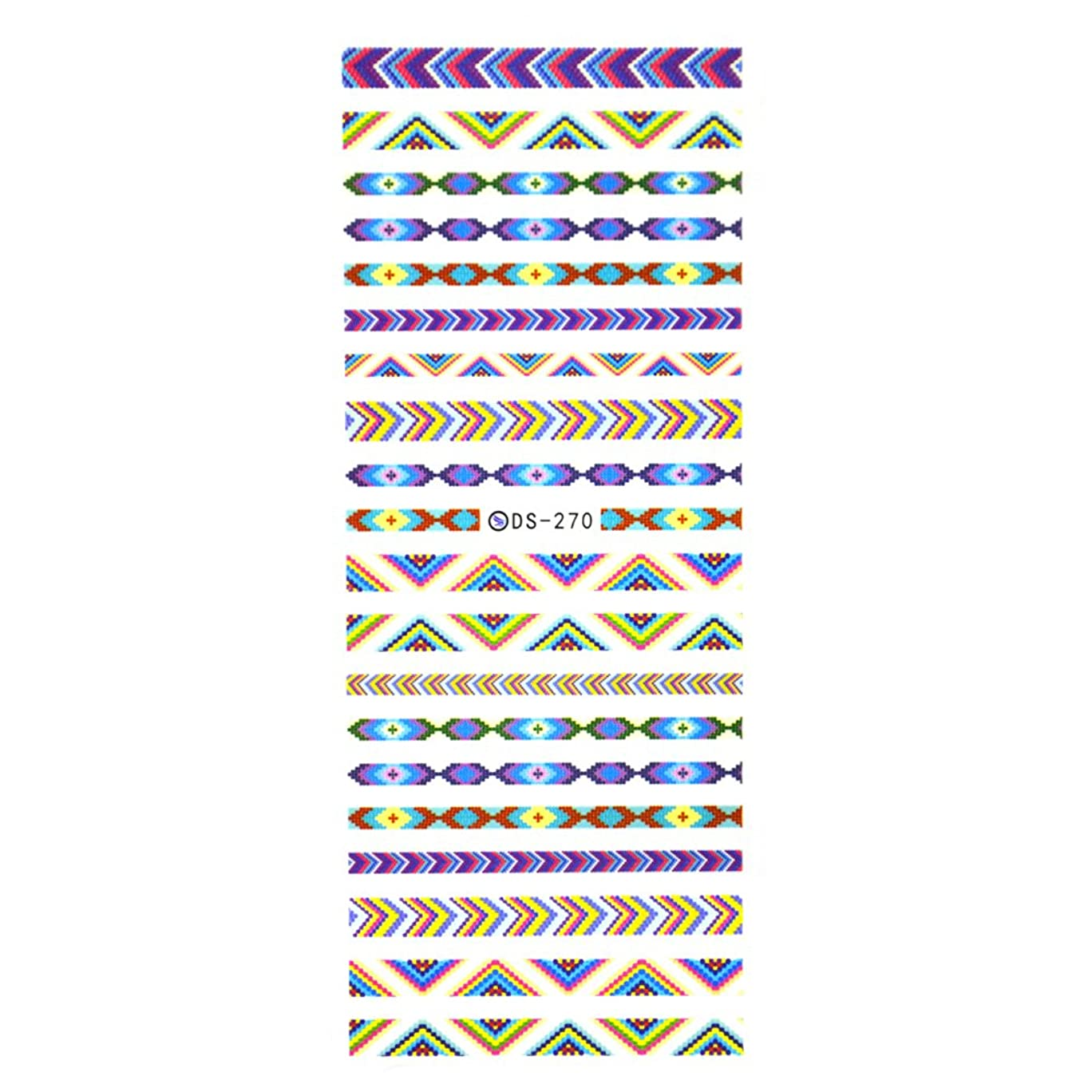 酸化する王子コーンウォール【DS270】ミサンガネイルシール  ミサンガ カラフル ステッカー