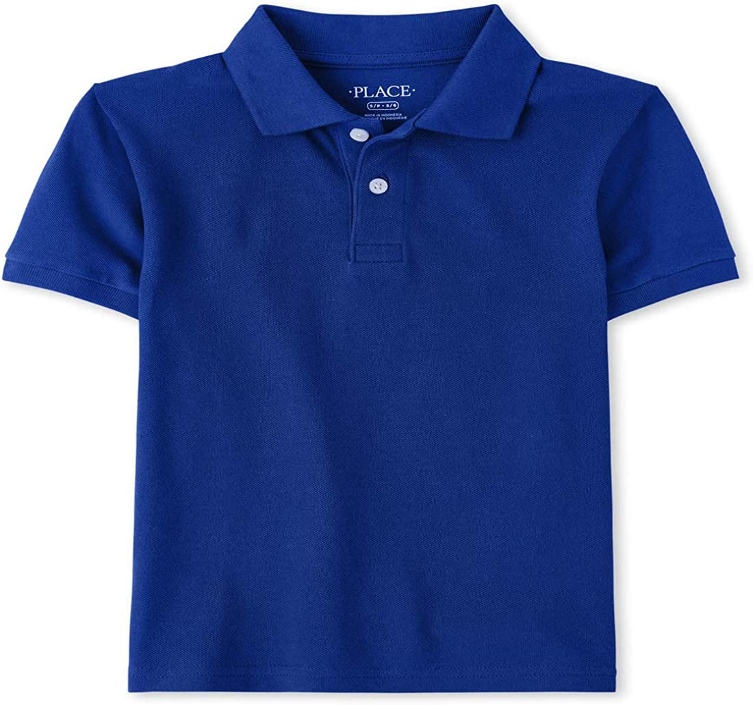 The Children's Place Boys' Baby and Toddler Uniform Pique Polo
