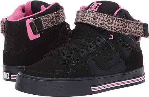 Black/Pink/Black